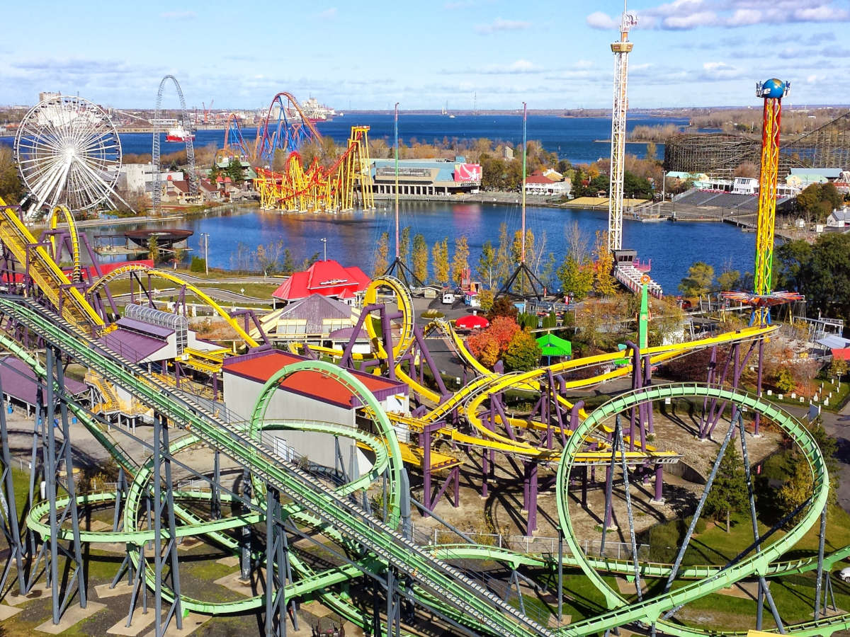 Parc d'attraction La Ronde de Montreal